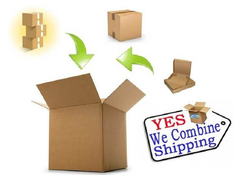 Combined shipping on all orders